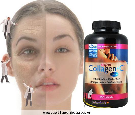 Collagen+c, collagen cho sức khỏe, collagen cho sắc đẹp