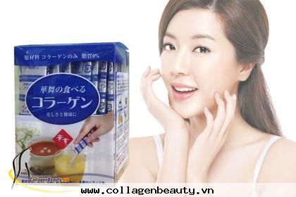 collagen không tăng cân, collagen, lão hóa da, collagen nhật, collagen Nhật cải thiện lão hóa da
