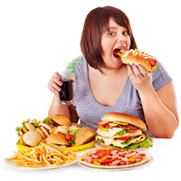 Ăn quá nhiều vào bữa sáng