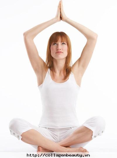 Yoga giúp chống lão hóa duy trì tuổi trẻ