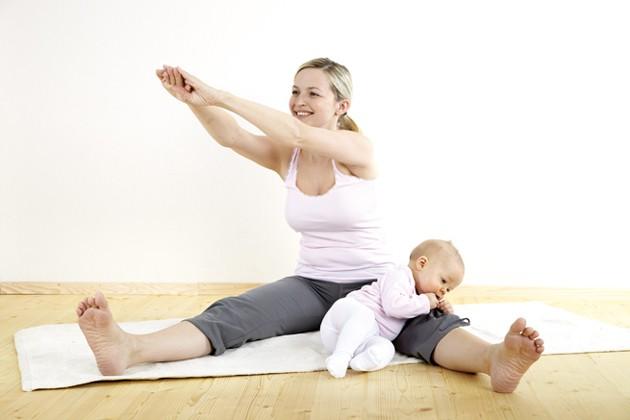 Tập thể dục là cách giảm cân sau sinh tốt nhất