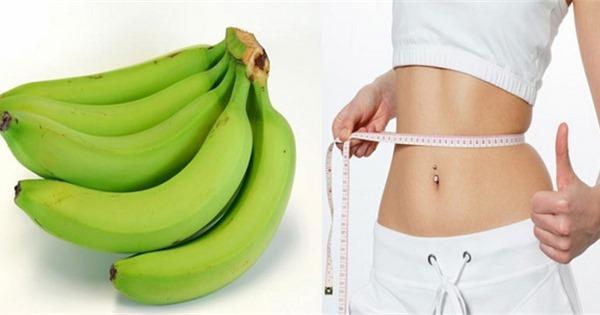 Chuối là thực phẩm giảm cân vô cùng hiệu quả