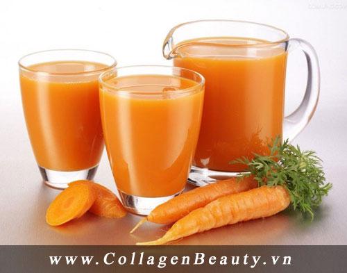 Hỗ trợ việc ăn kiêng và làm đẹp cơ thể từ cà rốt
