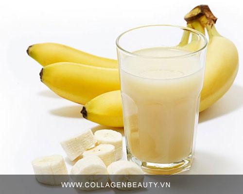 Phương pháp sử dụng chuối để bổ sung collagen cho cơ thể