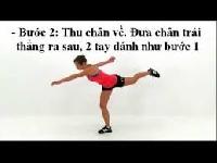 Bài tập giảm mỡ bụng và giảm cân nhanh (p2)