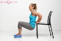 Bài tập giảm mỡ bụng hiệu quả với ghế