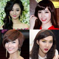 Những mỹ nhân thay đổi phong cách nhờ tóc mới