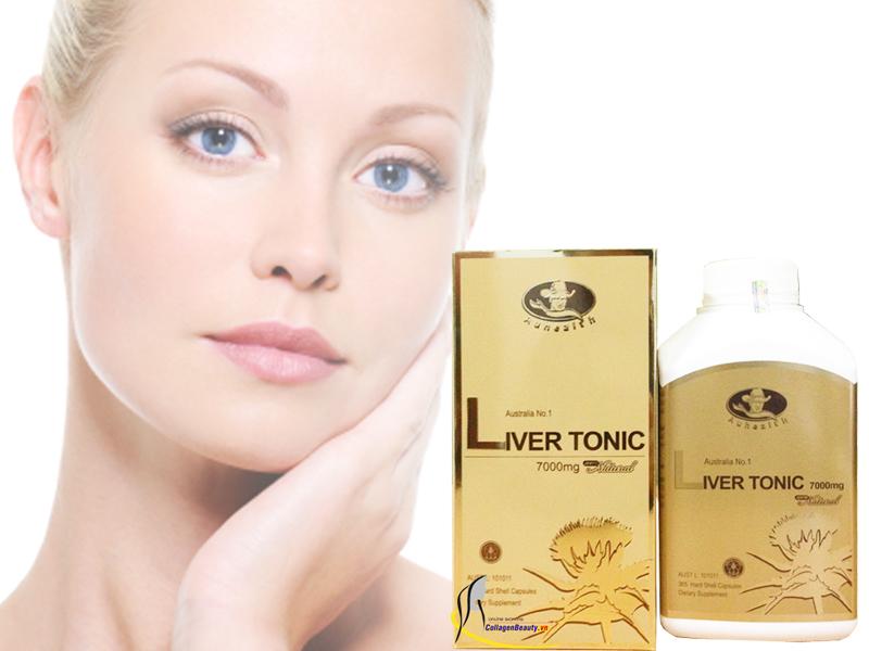 Viên Uống Điều Trị Gan Liver Tonic Auhealth 7000Mg 365 Viên giúp duy trì chức năng tiêu hoá
