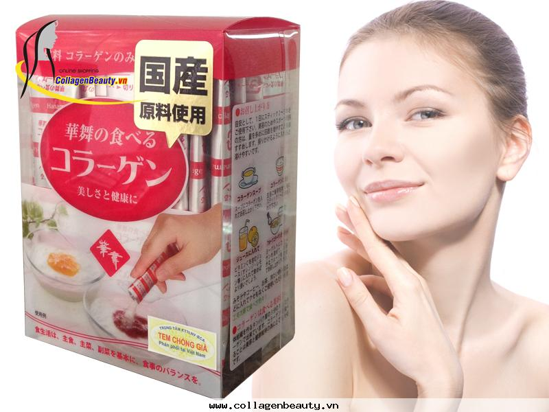 Pig Collagen Hanamai Nhật - Collagen Heo
