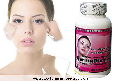 Viên uống đẹp da collagen DA giúp tái tạo và tạo sự đàn hồi cho da