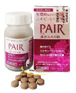 Thuốc trị mụn trứng cá Pair 112 viên Nhật Bản