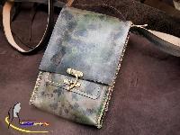 Túi Da Đeo Chéo Handmade Olug Theo Phong Cách Quân Đội Mã SP 945