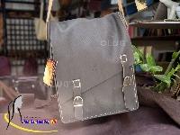Túi Da Dành Cho Nam - Túi Da Đựng Laptop Handmade Olug Mã SP 962