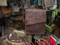 Túi Da Đựng Ipad Handmade Olug Mã SP 943
