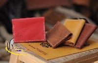 Ví Da Đựng Danh Thiếp Handmade Từ Da Bò Thật 100% Olug Mã SP 742