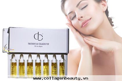 Collagen Tươi giúp da căn mịn đẹp tự nhiên