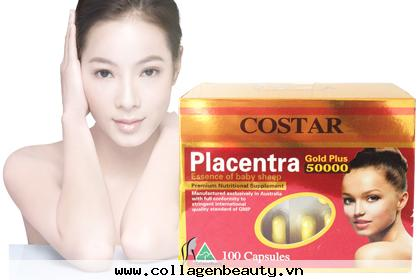 Nhau Thai Cừu Úc 50000mg Costar Gold Plus Placentra
