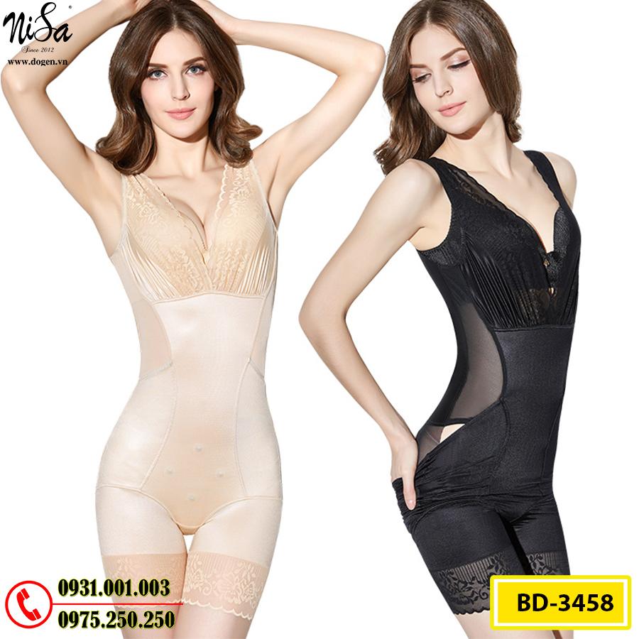 Đồ Lót Định Hình - Quần Áo Gen Định Hình Bikini Liền Thân Thu Gọn Vòng Eo (Cod: BD-3458)