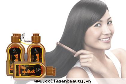 Dầu gội đen tóc Beauty Star Hàn Quốc Giúp tóc bạc trở nên đen, không làm hại da đầu, phục hồi tóc yếu, giúp tóc không bị khô và chẻ ngọn.