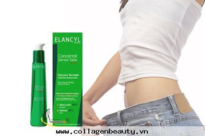 Kem massage tan mỡ Elancyl Concentre Ventre giúp tiêu mỡ và hạn chế tích tụ mỡ, giúp thúc đẩy đốt cháy mỡ thừa. Caffein tăng cường ly giải mỡ và Phl'idzine hạn chế tích tụ mỡ.